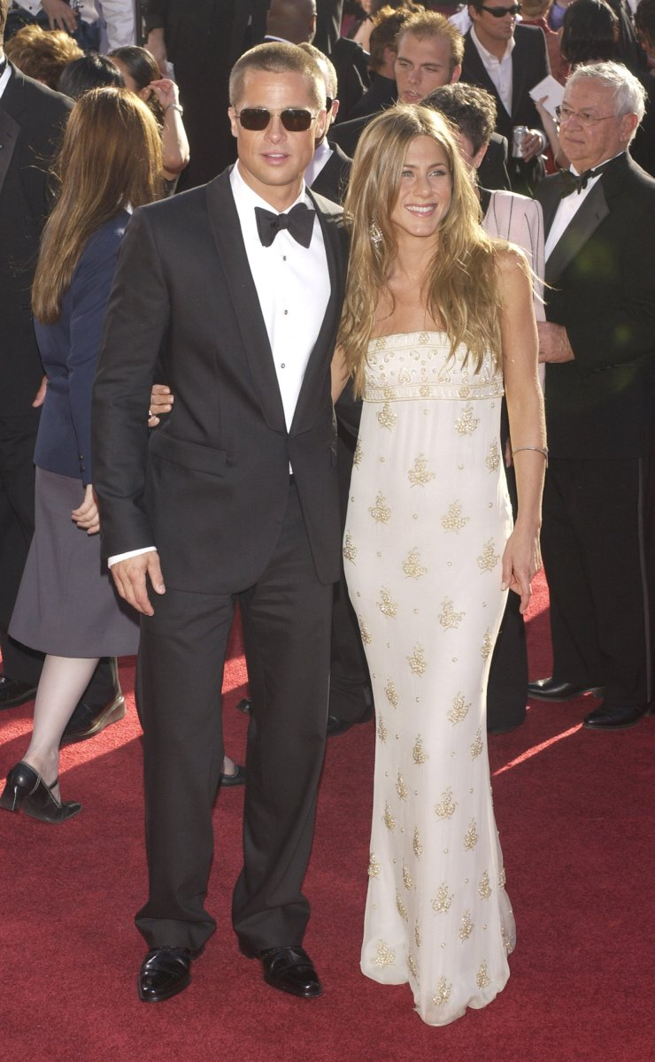 Pitt Slams Aniston Marriage Brad Says He Had Epiphany During Jennifer Upi