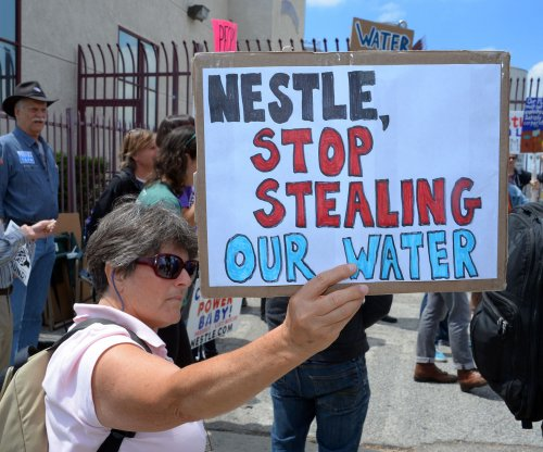 Protesters demand Nestle cease water bottling in California