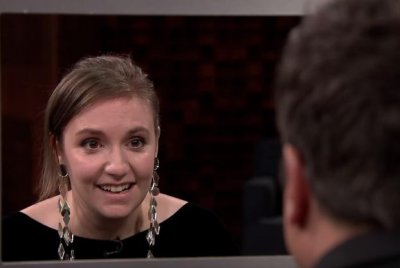 Lena Dunham, Jimmy Fallon face off in game of Box of Lies on 'Tonight Show'