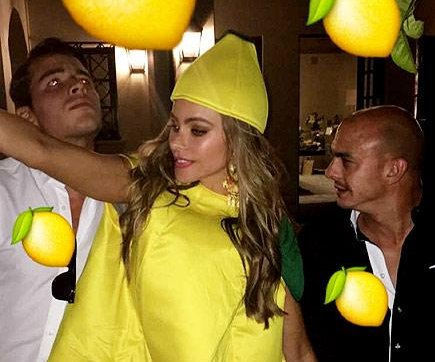 Sofia Vergara celebrates 44th birthday with lemon-themed party