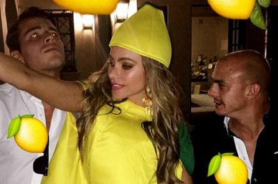 Sofia Vergara celebrates 44th birthday with lemon-themed party