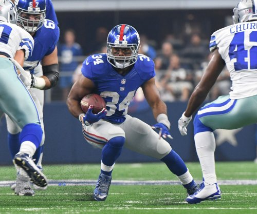 New York Giants and New Orleans Saints usually keep scorekeeper busy