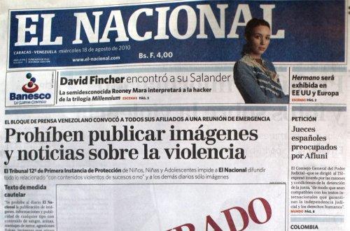 Venezuela newspaper ends print edition amid censorship concerns