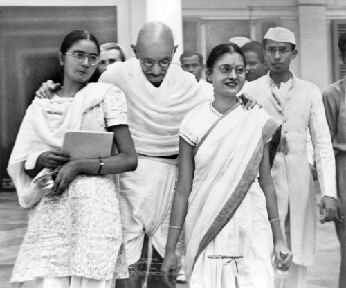 The assassination of Mohandas Gandhi