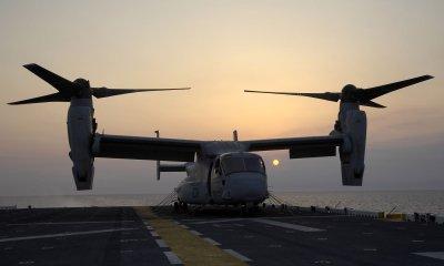 Marine falls from Osprey aircraft during training flight