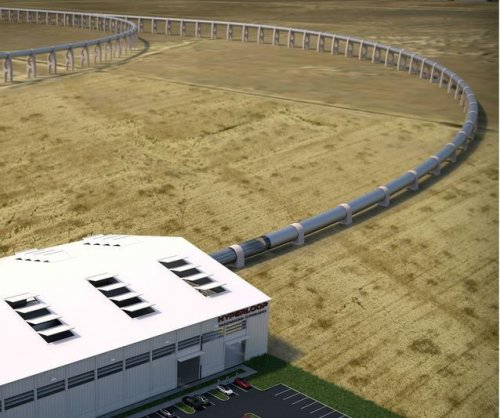 Startup to begin construction of Hyperloop track next year