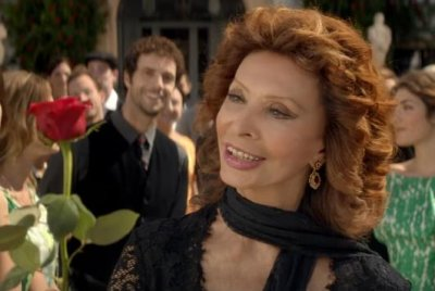 Sophia Loren stuns in Dolce & Gabbana short film