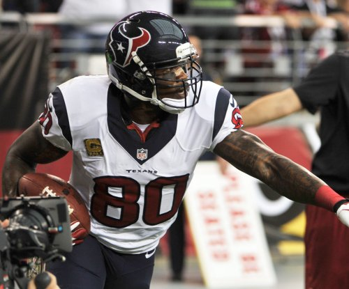 Andre Johnson works out for Tennessee Titans