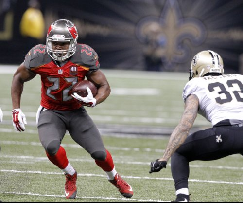 Tampa Bay Buccaneers RB Doug Martin might return on Sunday