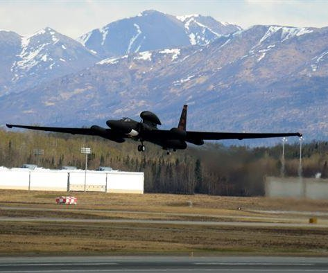 U-2S Dragon Lady appears at Northern Edge exercise