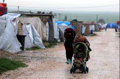Victims fleeing Islamic State max out capacity at Syria's Al-Hol camp