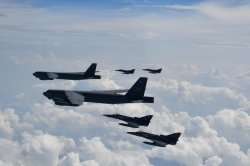U.S. B-52s participate in back-to-back exercises led by Colombia, Ecuador