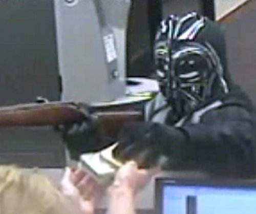 Darth Vader bank robber used rifle as show of Force