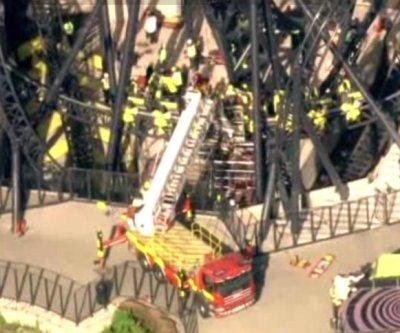 UK roller coaster crash leaves four people seriously injured