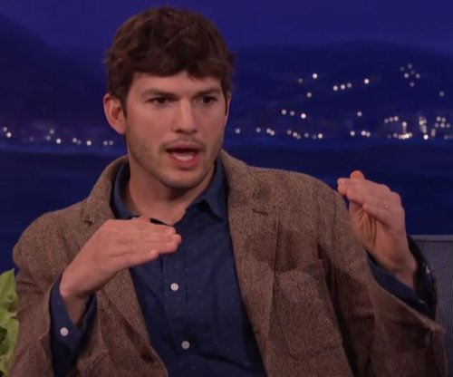 Ashton Kutcher wanted to name upcoming baby Hawkeye on 'Conan'