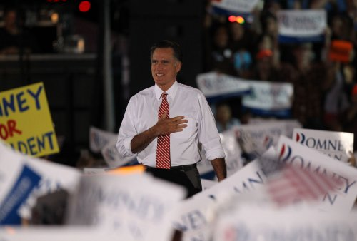 Romney changes abortion, tax message