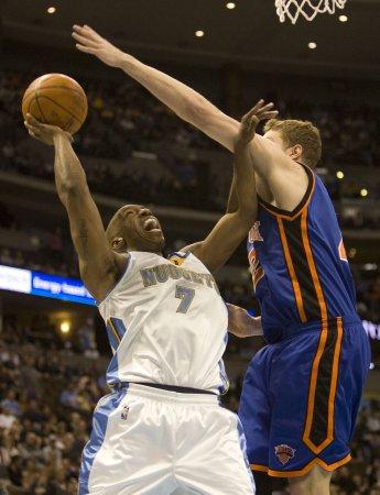 NBA: Denver 111, New York 104