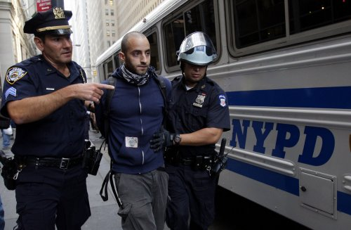 Occupy Protester gets 90 days for assault on New York police officer