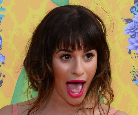 Lea Michele puked while singing 'Let It Go' for 'Glee'