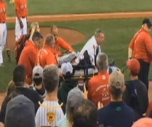 Witness on injured fan at Fenway: 'I don't think I've ever seen that much blood'