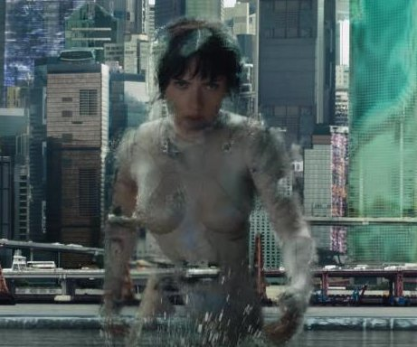 Scarlett Johansson goes invisible in 'Ghost in the Shell' teaser