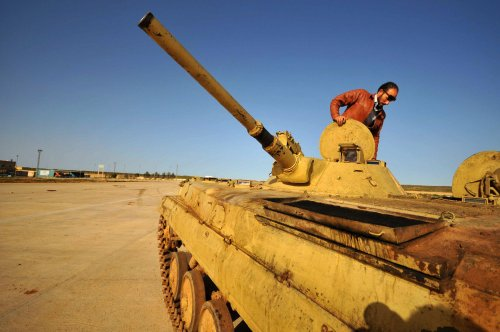 Libya takes rebel city; U.N. mulls action
