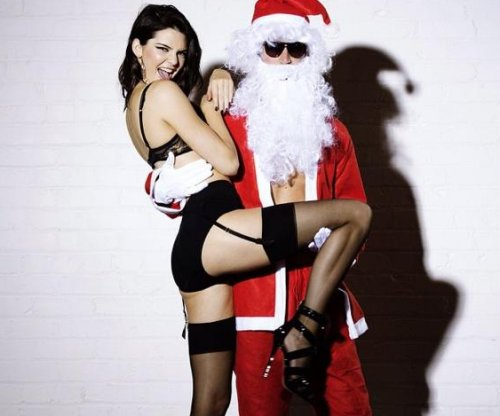Kendall Jenner strips for Love magazine advent calendar