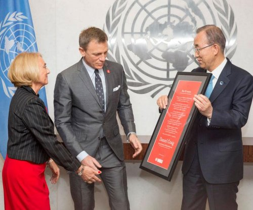 James Bond actor Daniel Craig appointed U.N. advocate for land mine elimination