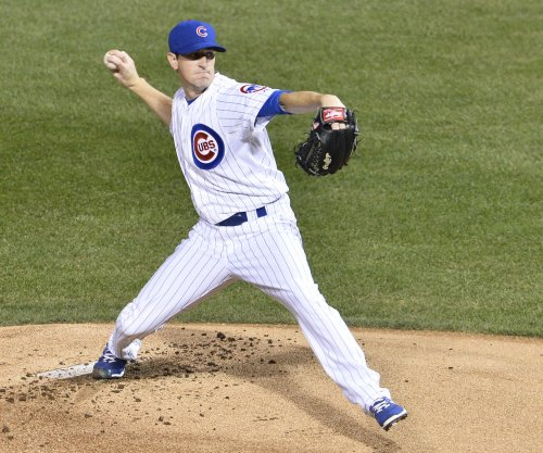 Chicago Cubs' Kyle Hendricks handcuffs Philadelphia Phillies