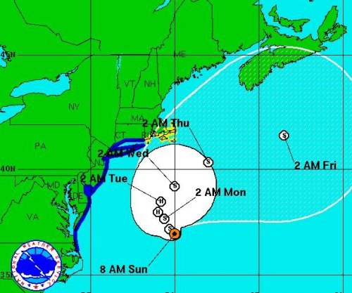 Forecasters: Hermine could reach hurricane strength again in Northeast