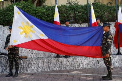 Philippines mayor shot dead during flag-raising ceremony