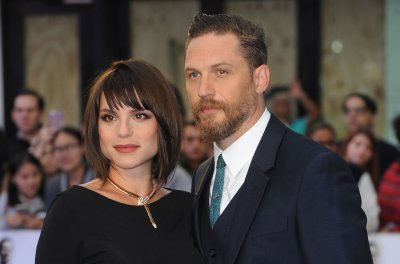 Tom Hardy's wife, Charlotte Riley, gives birth to second child