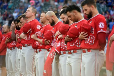 Emotional Angels win first game since death of Tyler Skaggs