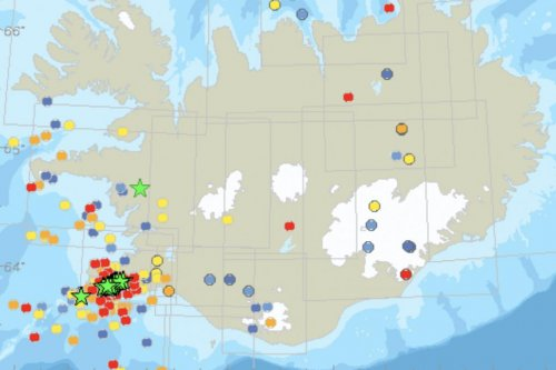 Earthquake swarm in Iceland could hint at even bigger event