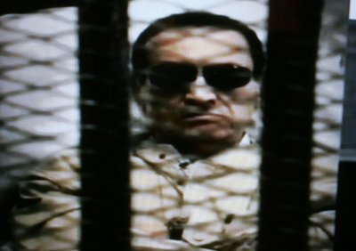 Ousted Egyptian President Hosni Mubarak found guilty of embezzlement