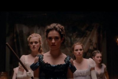 Lily James stars in first 'Pride and Prejudice and Zombies' trailer