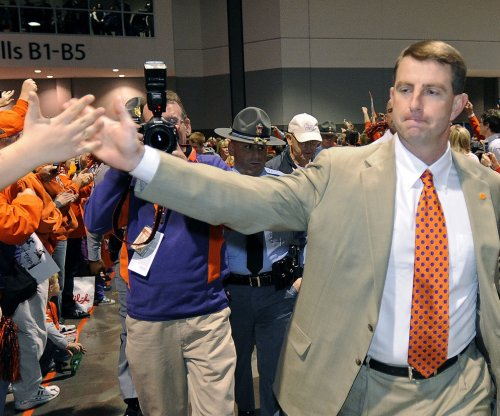 "Still ""a long way to go"" for top-ranked Clemson Tigers"