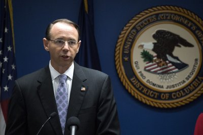 Deputy Attorney General Rod Rosenstein submits resignation