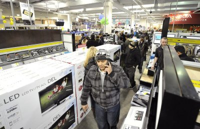 Retailers seeing double-digit increases in holiday spending