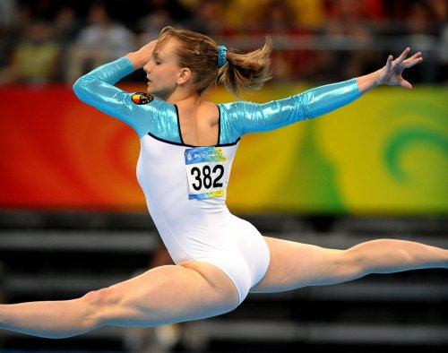 Olympic Medal: W Floor Exercise Gymnastics