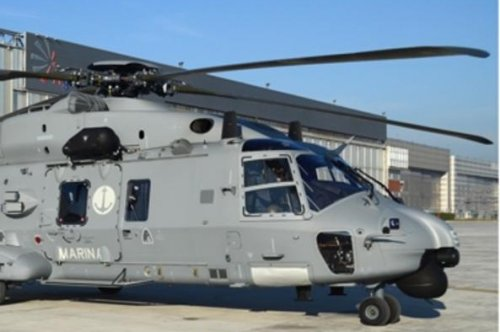 Leonardo delivers first NH90 MITT helo to Italian navy