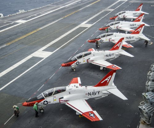 Navy T-45 crash renews concerns about the trainer aircraft