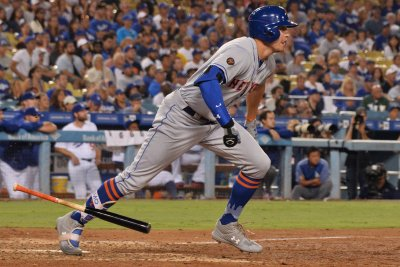 Jacob deGrom, Brandon Nimmo lead New York Mets over Los Angeles Dodgers
