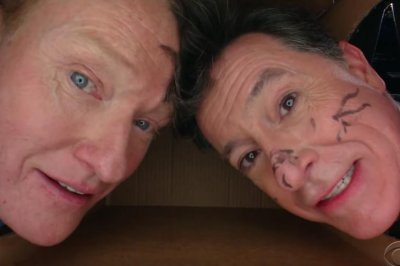 Conan O'Brien, Stephen Colbert have Personal Space interview