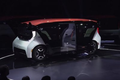 GM-owned automaker unveils first self-driving vehicle
