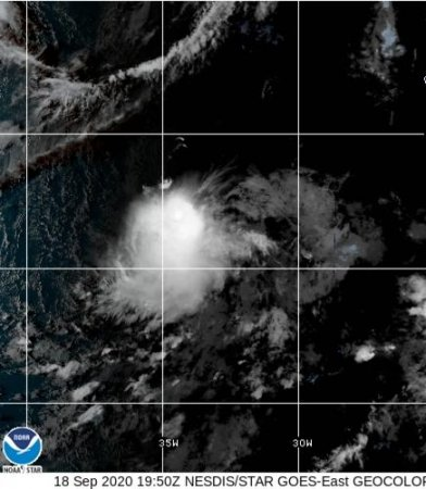 New tropical storm in central Atlantic grabs the name Wilfred