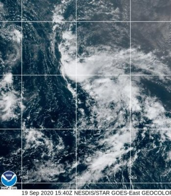 Tropical Storm Wilfred maintains strength in Atlantic