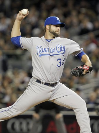 Royals pitcher Davies put on shelf