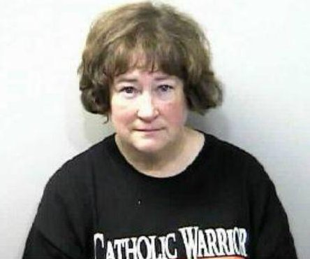 Police: 'Catholic Warrior' damaged satanic display