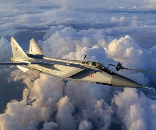 Upgraded MiG-31 fighters for Russian Air Force
